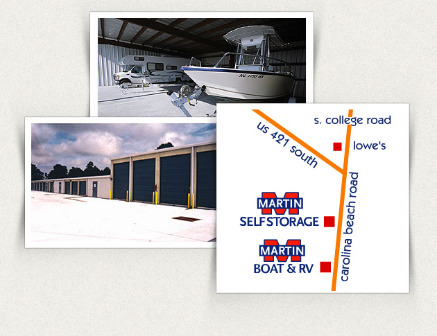Martin Self Storage 6136 Carolina Beach Rd Wilmington NC 28412