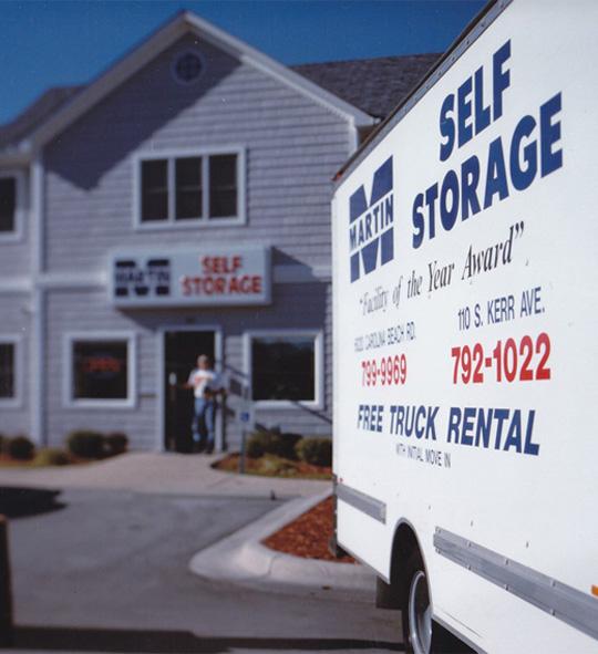 Self Storage Wilmington Nc Storage Southport Nc Martin
