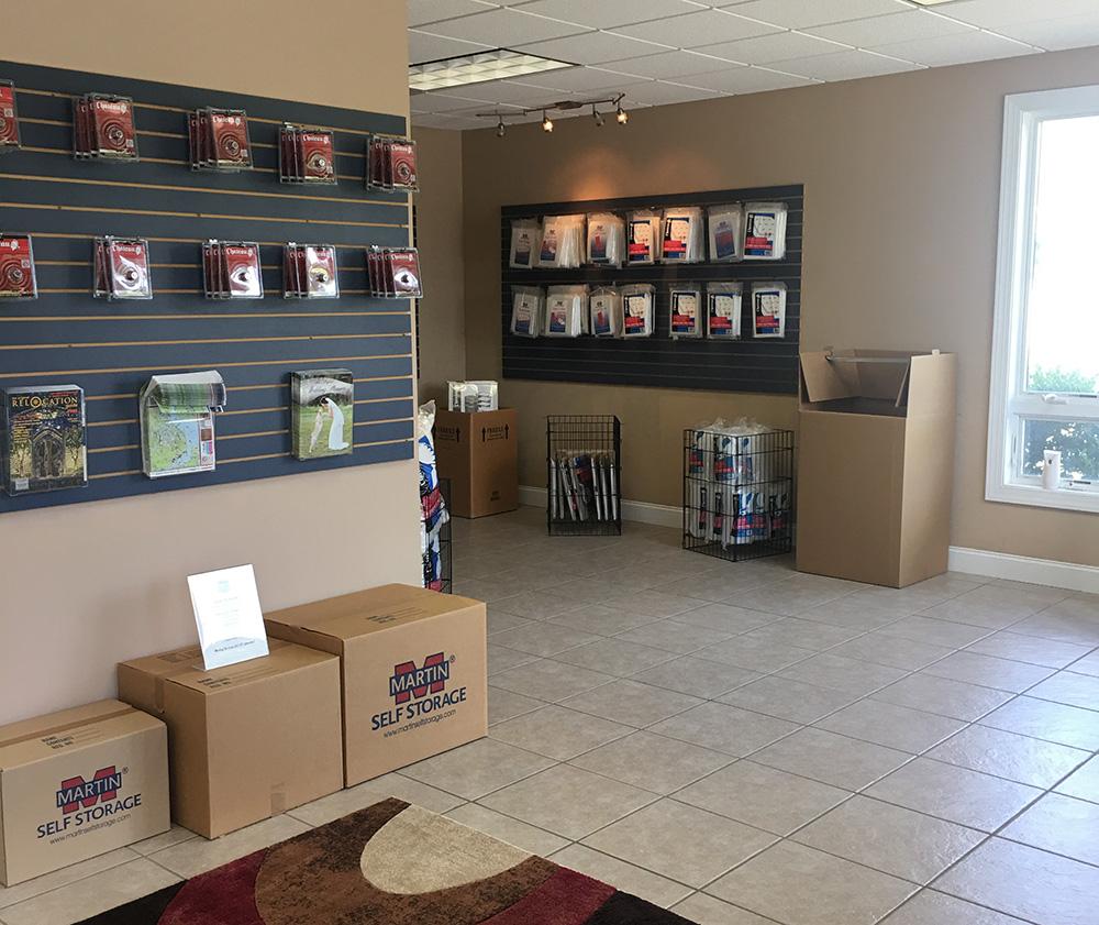 Moving Supplies Martin Self Storage
